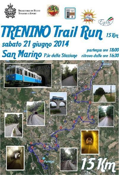 I favoriti del Trenino Trail Run: Enrico Benedetti, Fabio Bernardi e Livia Grazi