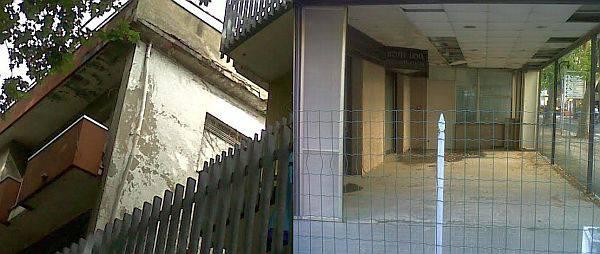 Hotel abbandonato e cadente su viale Pascoli. I vicini si lamentano