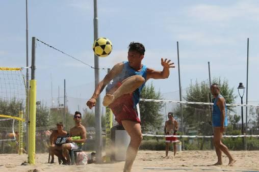 Il Campionato Italiano FootVolley a San Giuliano Mare