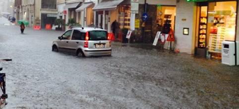 Temporale, a Rimini chiusa via Castelfidardo. Ripristinato sottopasso Tripoli