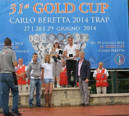 Gold Cup Beretta: Alessandra Perilli vince la categoria Eccellenza