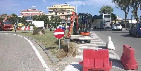 Al via riqualificazione accesso a Viserbella. Un mese dilavori per 40.000 €
