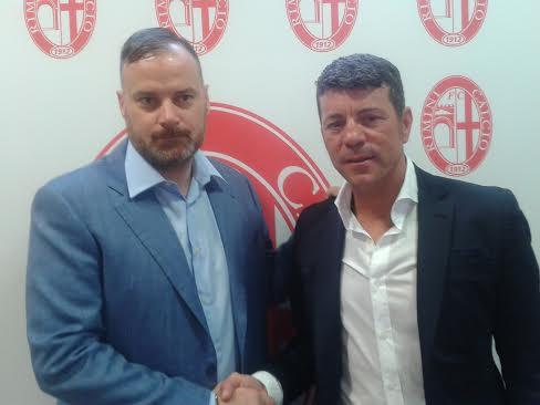 Rimini Calcio. Il nuovo tecnico, Salvatore Campilongo, si presenta