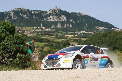 42° San Marino Rally: dopo le prime due prove speciali comanda Andreucci
