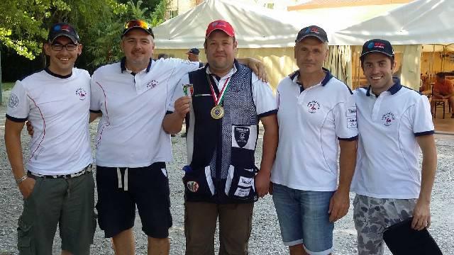 Compak Sporting. Giardi vince il titolo italiano di Seconda Categoria