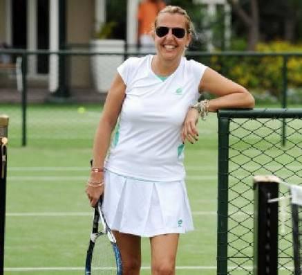 Raffaella Reggi protagonista del Campione Day al Tennis Club Riccione