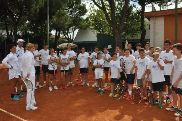 Tennis. Al CT Riccione il Campione Day con Raffaella Reggi