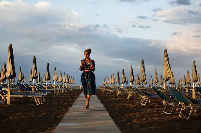 Rimini su The Sartorialist. immortalata dal guru della moda