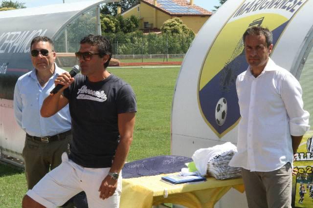 Chiusura con il sindaco Morelli per il Summer Camp 2014 del Cesena Calcio