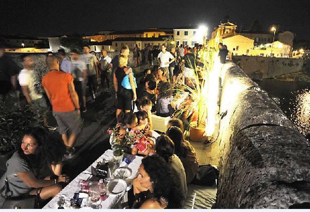 P.assaggi di vino. Due serate al ponte di Tiberio e a San Giuliano