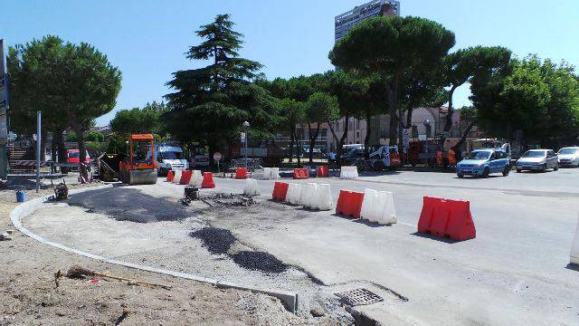 Fluidificazione asse mediano. Apre cantiere sulle vie Coletti- Destra del Porto