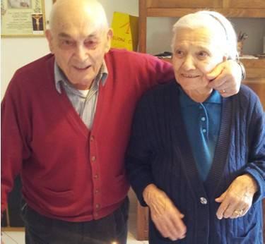 Nozze di platino per Guido e Nazzarena, 75 anni insieme