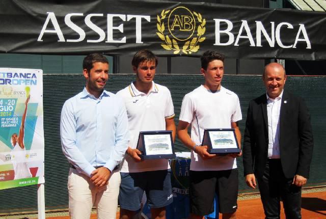 Tennis. Asset Banca Junior Open: De Rossi-Bertuccioli vincono nel doppio