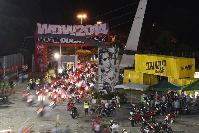 Concluso con successo il World Ducati Week 2014