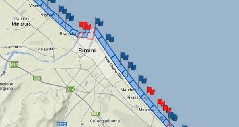 Dopo il temporale di oggi divieto di balneazione in cinque zone