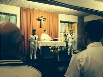 Il corpo della Capitaneria compie 149 anni. Ieri la celebrazione eucaristica