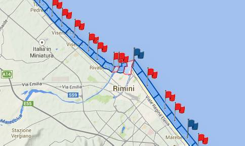 Vigilia di Ferragosto con divieto di balneazione in 13 zone