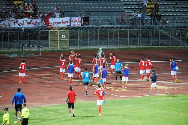 Coppa Italia di Serie D. Rimini-Ribelle 3-1