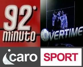 92° minuto e Overtime