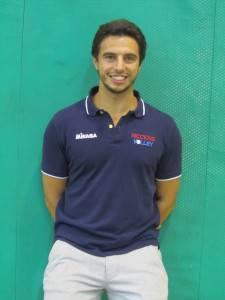 Davide Giannini, coach del Riccione Volley