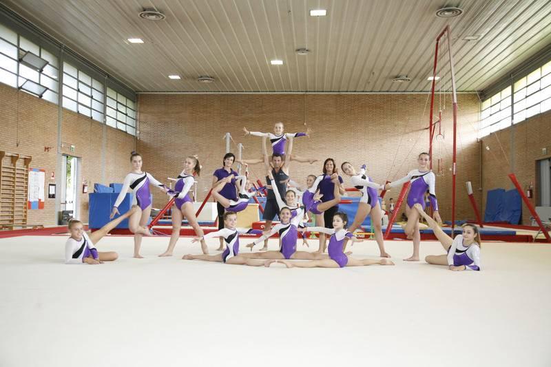 La squadra agonistica femminile della Pol. Celle