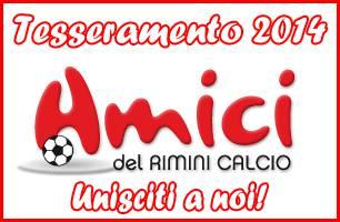 Tesseramento 2014 Amici del Rimini Calcio
