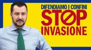 salvini stop invasione