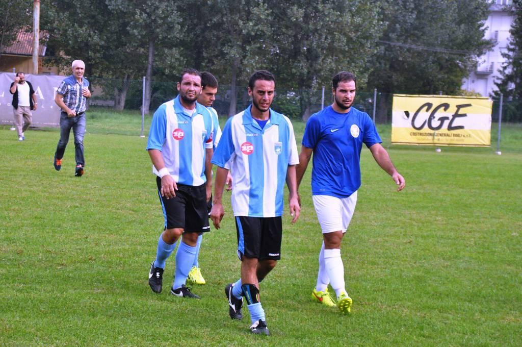 """Riccione Calcio in campo (©Epimaco """"Pico"""" Zangheri)"""