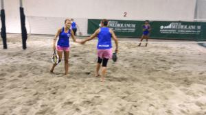 Beach tennis femminile al Tennis Viserba
