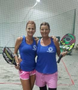 Da sinistra Sarka Zannoni e Nadia Giannini