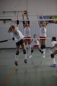 Riviera Volley a muro (Gianluigi Pagliarani)