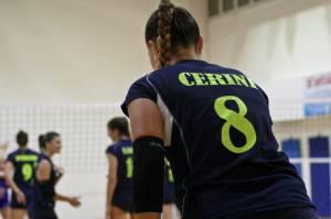Sofia Cerini in battuta