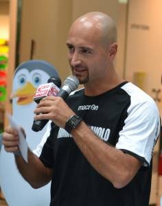 Stefano Franchini, allenatore InfoAlberghi Rimini