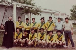 foto squadra calcio rp luglio 67