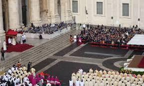 La cerimonia in Vaticano