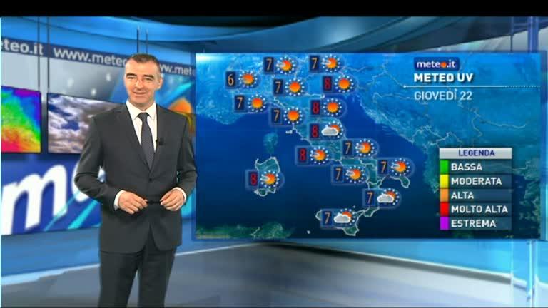Sul meteo delle reti mediaset gli spot delle localit - Il meteo bagno di romagna ...