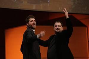 Zanzottera e Kramer sul palco