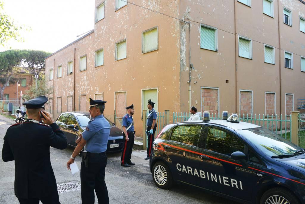 I Carabinieri di Riccione controllano le ex colonie