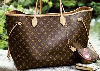 Una borsa di Louis Vuitton originale