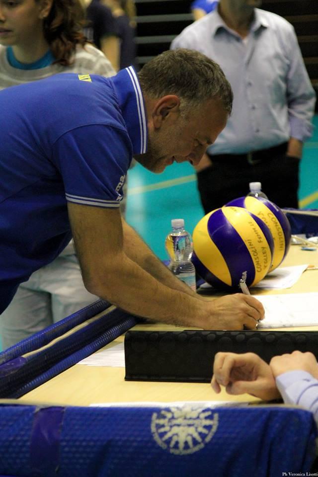Il coach del Team 80 Gabicce Gradara, Maurizio Moretti