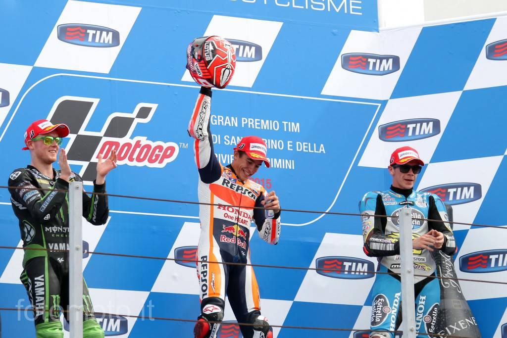 A Misano vince Marquez