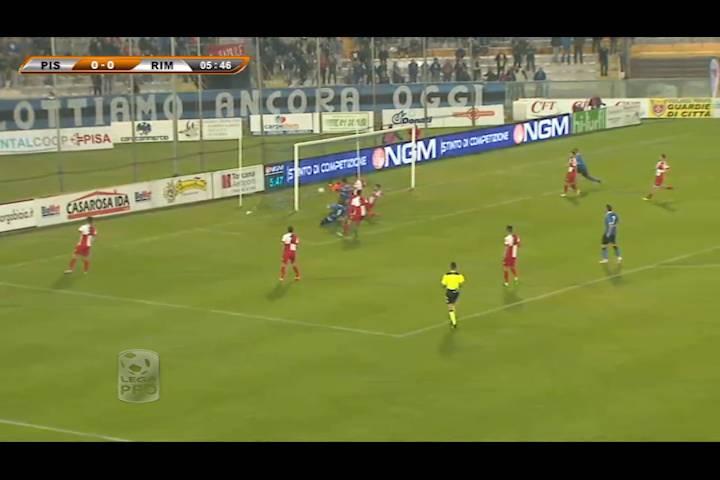 Pisa-Rimini 2-0: