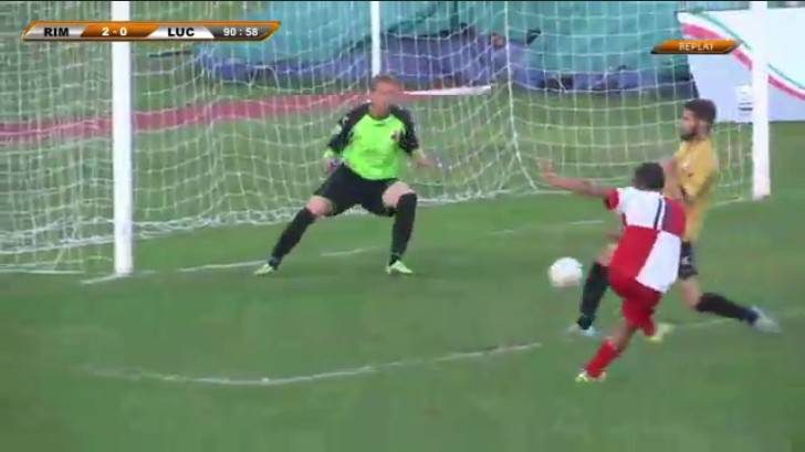 Rimini-Lucchese 2-0:
