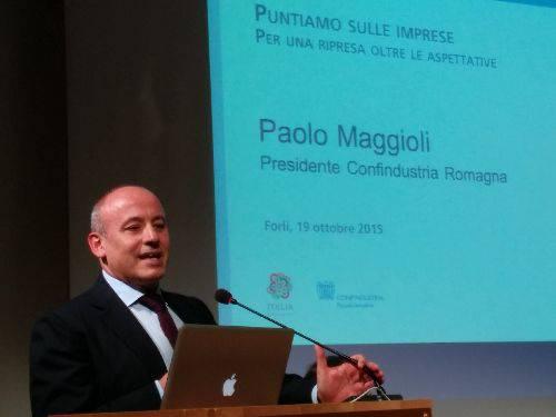 Paolo Maggioli resta presidente dell'Unione federativa Confindustria Romagna