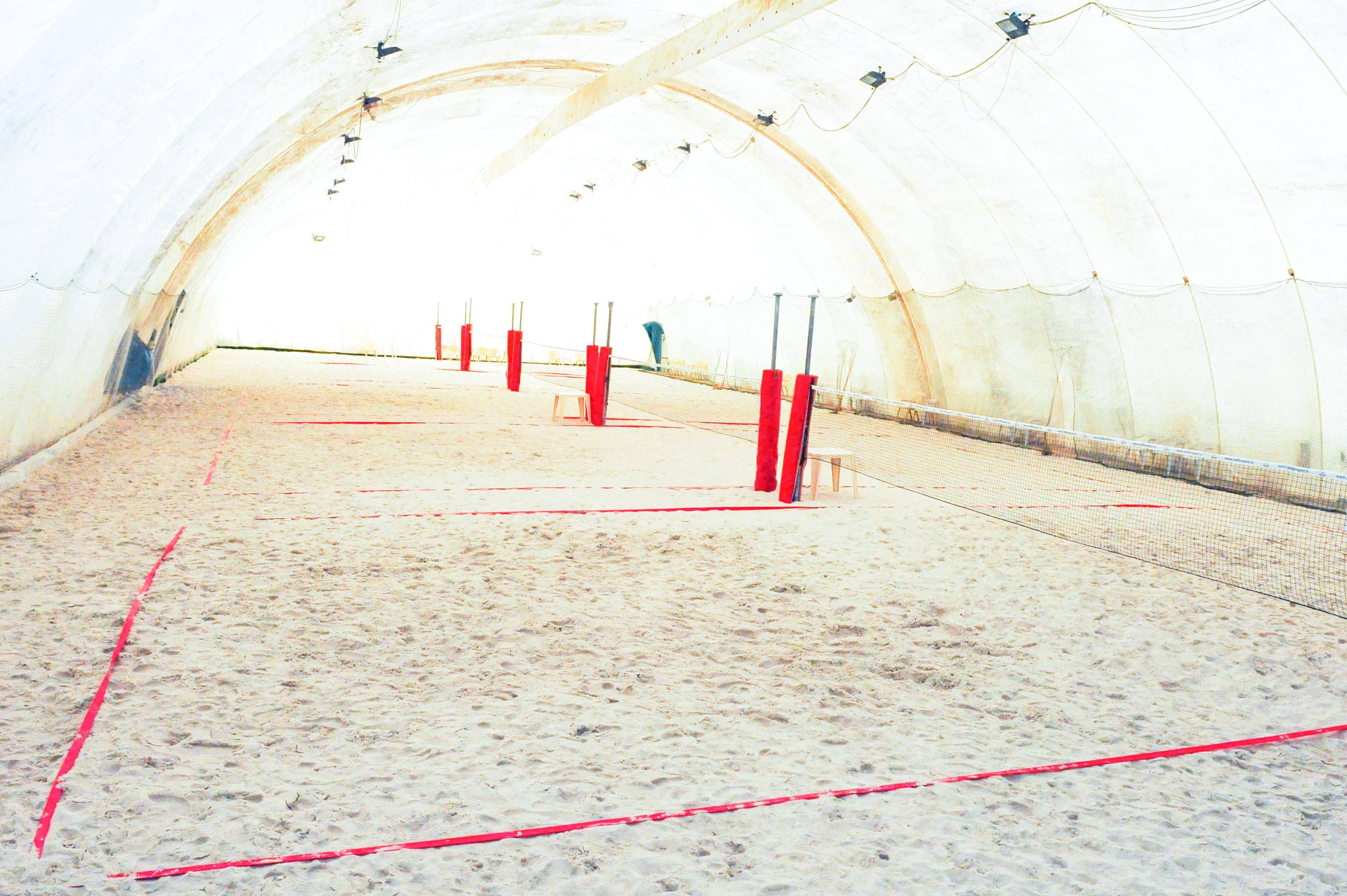 al garden al via la stagione indoor di beach tennis