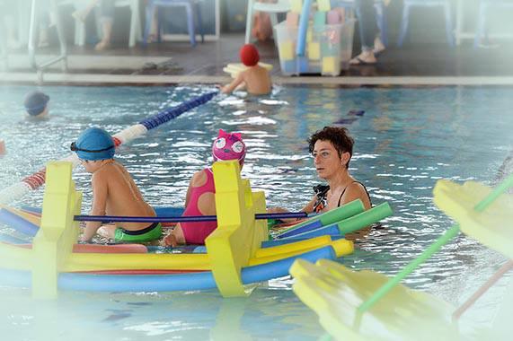 Tutti i corsi di nuoto per bambini del Garden Sporting Center