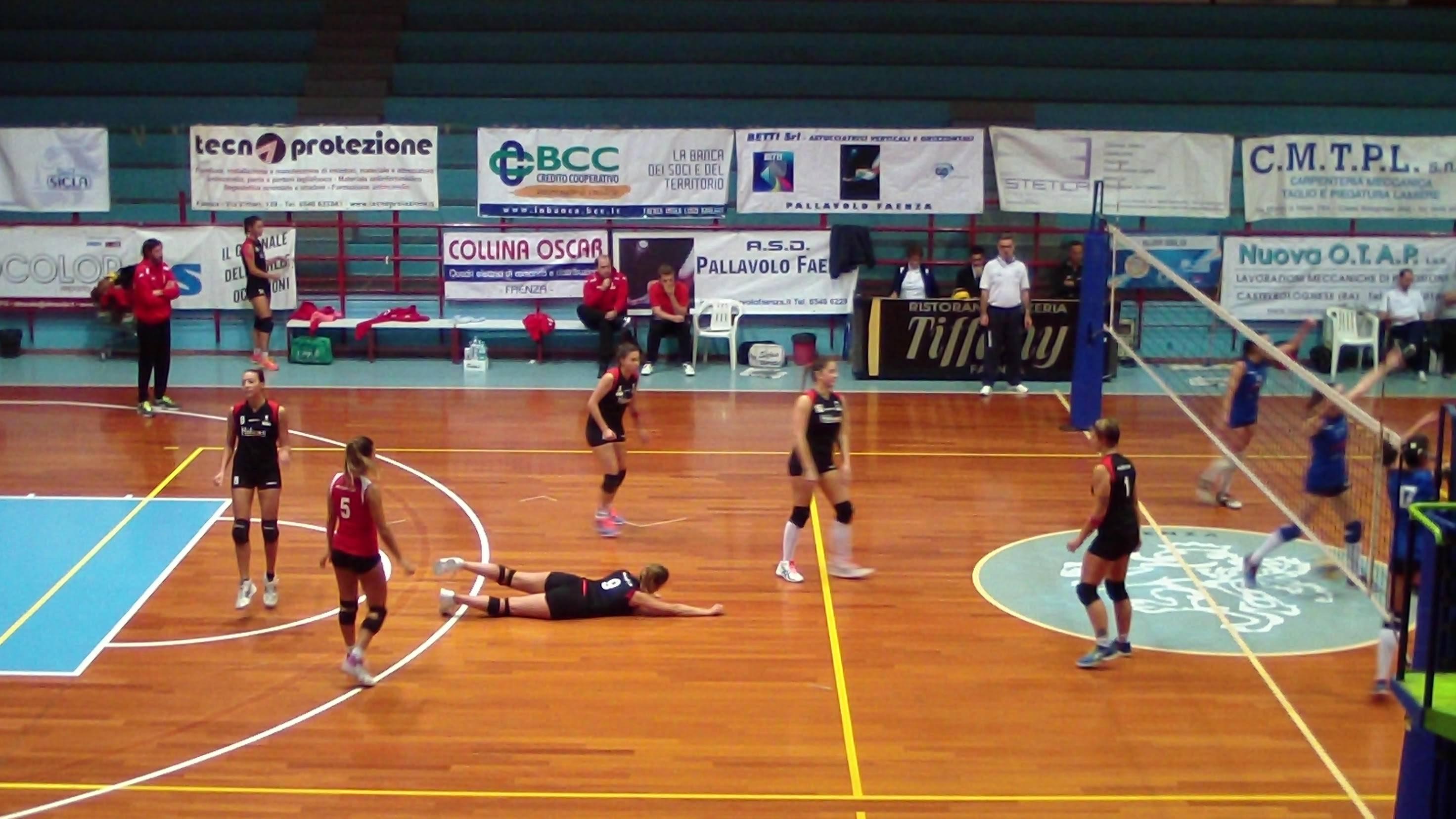 Pallavolo Faenza-Riccione Volley 3-1