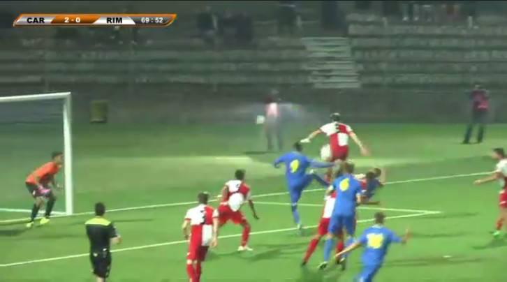 Carrarese-Rimini 3-0: