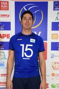 Francesco Tabarini, capitano della nazionale