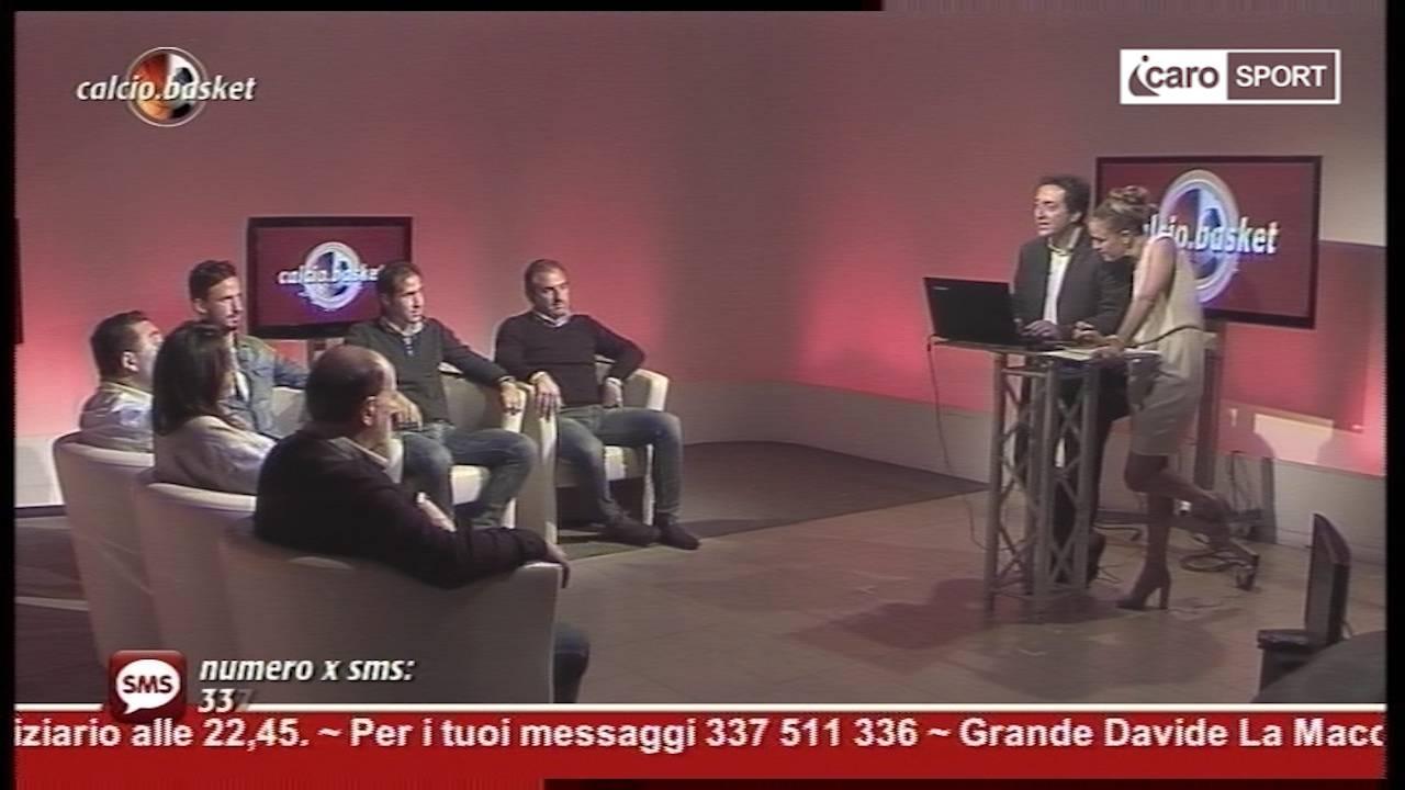 """""""Calcio.Basket"""" del 2 novembre 2015"""